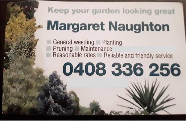 Margaret Naughton