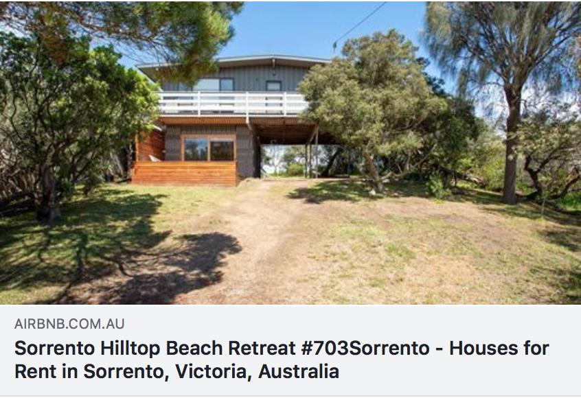 #703Sorrento : Hilltop Beach Retreat