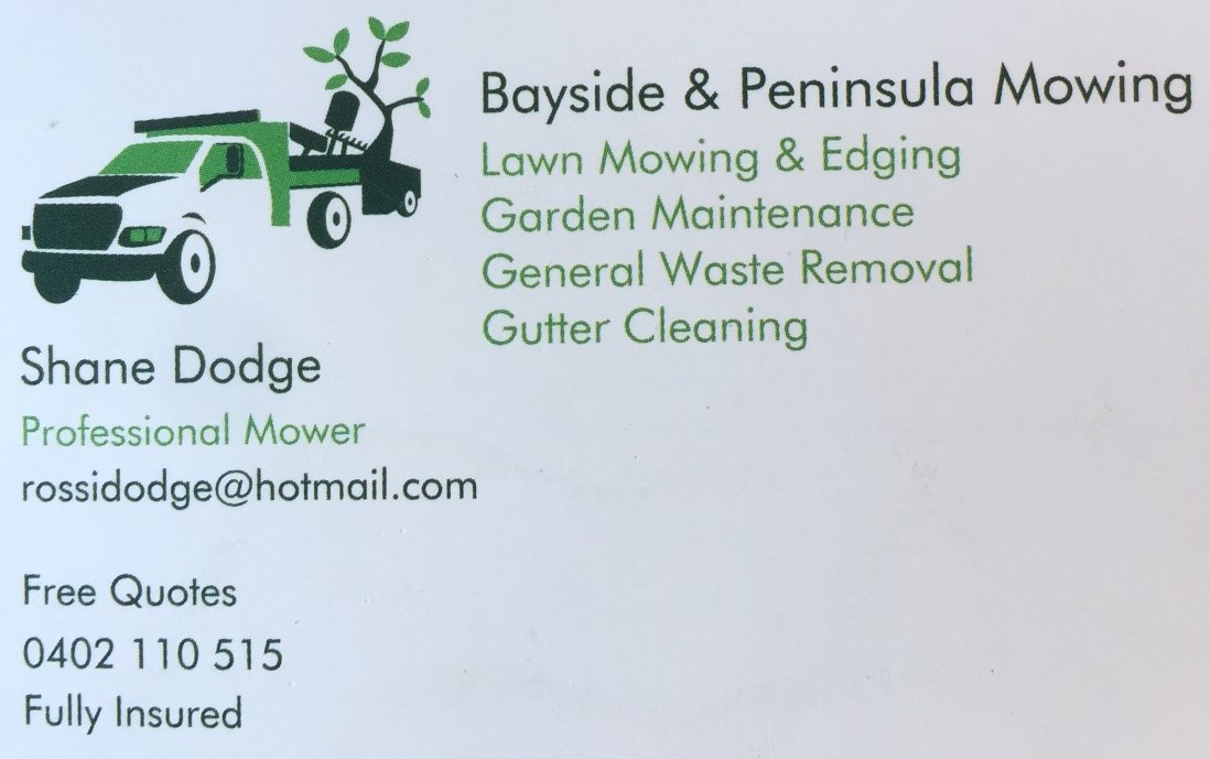 Bayside & Peninsula Mowing