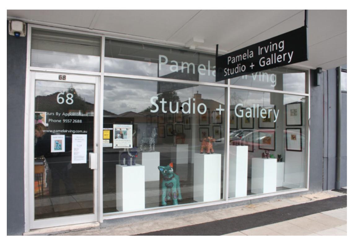 Pamela Irving Studio + Gallery